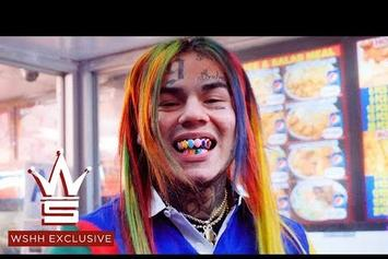 """Tekashi 6ix9ine Mobs Out For The """"BILLY"""" Video"""