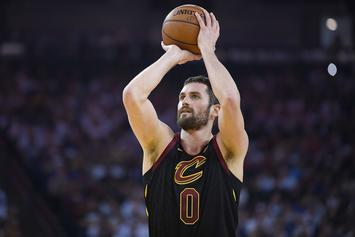 Kevin Love Opens Up About In-Game Panic Attack