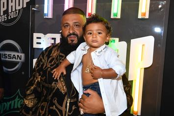 "DJ Khaled Shares Heartfelt Message To His Son In ""Father Of Asahd"" Promo Clip"