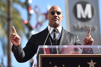 "Los Angeles Lakers Receive ""Inspirational Message"" From The Rock"