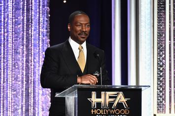 Eddie Murphy & Daughter Angel Hugging In Newly-Surfaced Photo