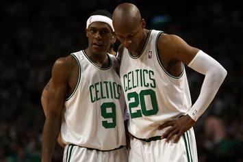 """Rajon Rondo Responds To Ray Allen's New Book: """"He Wants Attention"""""""