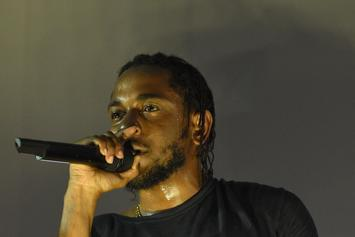 """Kendrick Lamar Continues To Film """"Alright"""" Video In Los Angeles"""