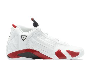 "Air Jordan XIV Re-Releasing In ""Last Shot"" & ""Candy Cane"" Colorways"