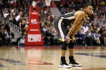 Steph Curry Suffers Left Knee Injury In First Game Back