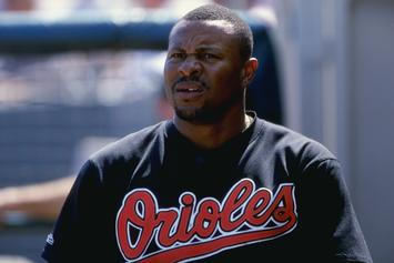 Former MLB Star Albert Belle Arrested For DUI, Indecent Exposure
