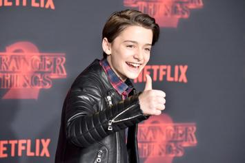 """Stranger Things"" Star Noah Schnapp Goes ""Sneaker Shopping"" At Flight Club"