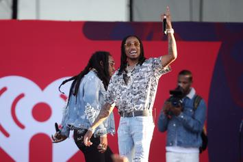 Quavo Is All Smiles After Receiving New Lamborghini For 27th Birthday