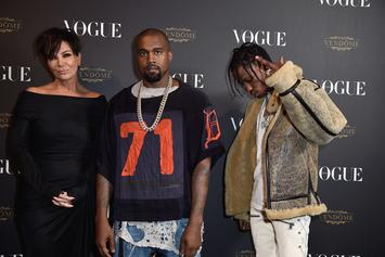Kanye West & Travis Scott's Careers Reportedly Being Guided By Kris Jenner