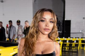 "Tinashe & Her ""Boo Thang"" Ben Simmons Ride Top Down In Philadelphia"
