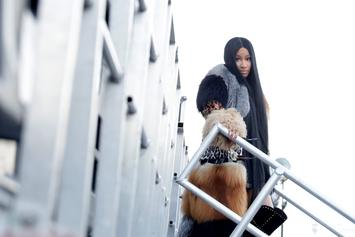Nicki Minaj Comes Out Of Hiding For Los Angeles Lakers Game