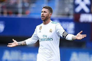 Sergio Ramos Could Receive Another UEFA Ban For Entering The Tunnel