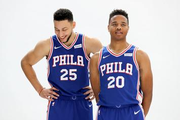 "Markelle Fultz Shows Off Ben Simmons' Ferrari: ""I Got A Honda Accord"""