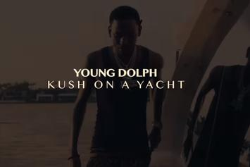 """Young Dolph Wakes Up To """"Kush On The Yacht"""""""