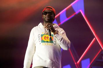 Fan Tackled By Security After Crashing Stage At Gucci Mane Concert
