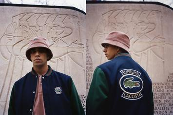 Supreme x Lacoste Debut New Spring/Summer 2018 Collection