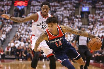 """Wizards' Kelly Oubre Jr. Reacts To Drake Calling Him A """"Bum"""""""