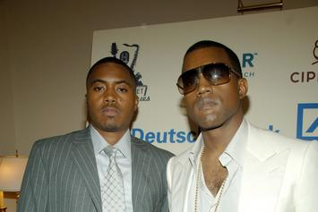Kanye West Announces Nas' Album Release Date