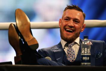 Conor McGregor Returns To Ireland Following Bus Attack In Brooklyn