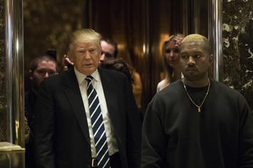 """Kanye West Is Reportedly Signing His Merchandise With """"Trump"""""""