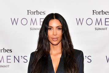 Kim Kardashian Almost Shows Her Vagina To Promote KKW Fragrance
