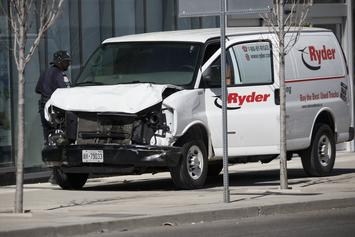 Toronto Van Attacker Charged With 10 Counts Of First Degree Murder
