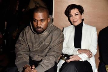 Kris Jenner Shuts Down Reports That She & Kanye West Are Fighting