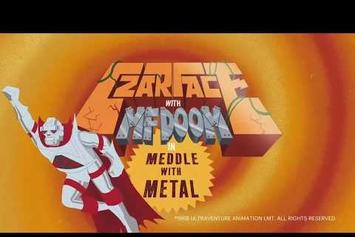 "Czarface & MF DOOM Fight Bad Guys In Animated ""Meddle With Metal"" Video"
