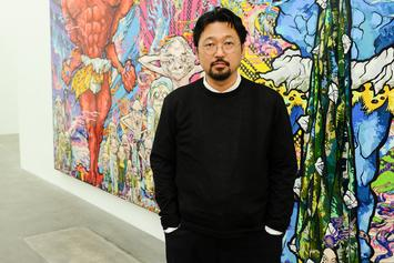 "Takashi Murakami Describes Kanye West & Kid Cudi's Artwork For ""Kids See Ghost"""