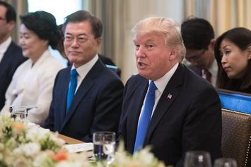 Donald Trump Should Win The Nobel Peace Prize According To South Korea's President