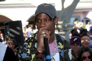 Travis Scott Spotted In Another Air Jordan 4 Exclusive