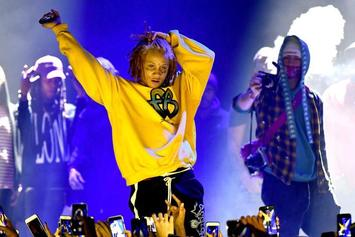 What Is Going On In This Photo Of Trippie Redd?