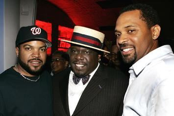 "Ice Cube, Mike Epps, & John Witherspoon Spotted Filming New ""Friday"" Movie"