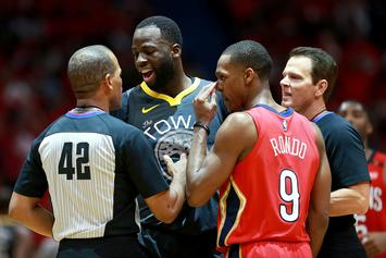 Draymond Green Lashes Out After Reporter Instigates Feud With Rajon Rondo