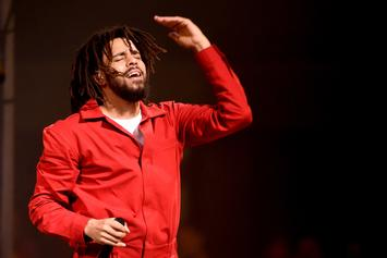 """J. Cole Performs An Acapella Version Of """"1985"""" During Dallas Concert"""
