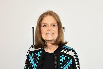"""Gloria Steinem Quotes Drake's """"Back To Back"""" In Women's March Speech"""