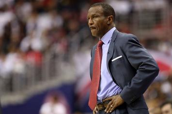 "Raptors' Dwane Casey Voted ""Coach Of The Year"" By His Peers"