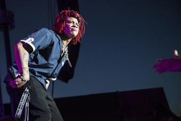 "Trippie Redd Flexes His $400K Iced Out ""Uka Uka"" Chain"