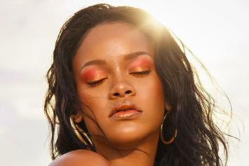 Rihanna Goes Topless For New Fenty Beauty Beach Please Collection