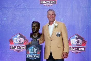 Brett Favre Reveals He Went To Rehab 3 Times During NFL Career