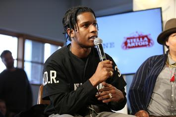 "A$AP Rocky ""Testing"" To Include Kid Cudi, Frank Ocean, Kodak Black, & More"