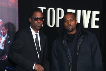 """Watch Chris Rock's Intro To Kanye West's """"Ye"""" Album Listening Party In Wyoming"""