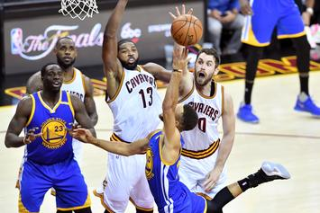 Tristan Thompson & Kevin Love Could Face Suspensions For Game One Scuffle