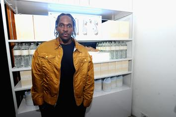 "Pusha T's Drake Blackface Cover For ""The Story Of Adidon"" Is Gone"
