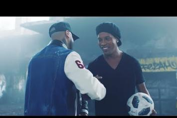 "Watch The Vibrant Visuals For Nicky Jam & Will Smith's ""Live It Up"" World Cup Anthem"