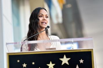 "Zoe Saldana Has Finished Filming Her Scenes In ""Avatar"" 2 & 3"