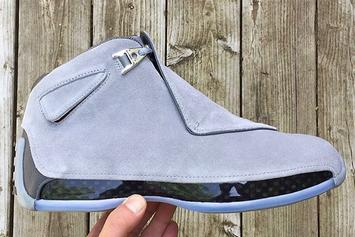 """Cool Grey"" Air Jordan 18 To Release For First Time Ever"