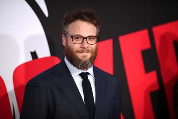 Seth Rogen Can't Stand Pete Davidson & Ariana Grande's Constant Affection