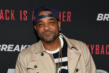 Jim Jones Talks Recent Arrest & Challenges 50 Cent To Boxing Match