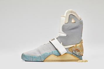 """Nike Air Mag Used In """"Back To The Future II"""" Sells For Over $90K At Auction"""